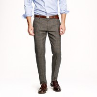 Ludlow slim suit pant in Prince of Wales glen plaid English wool