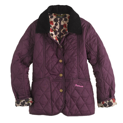Girls' Barbour® printed summer Liddesdale jacket