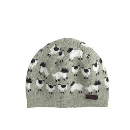 Girls' Barbour® sheep beanie