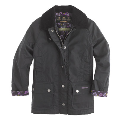 Girls' Barbour® printed Beadnell jacket