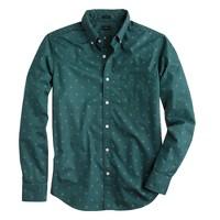 Slim shirt in douglas fir foulard