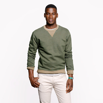 Wallace & Barnes fatigue sweatshirt