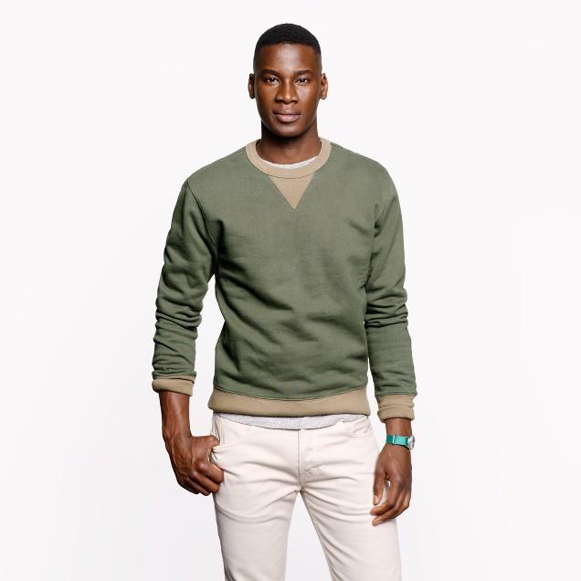 Wallace & Barnes fatigue sweatshirt