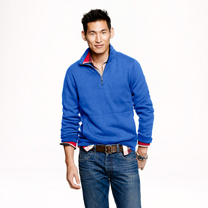 Summit fleece half-zip sweatshirt