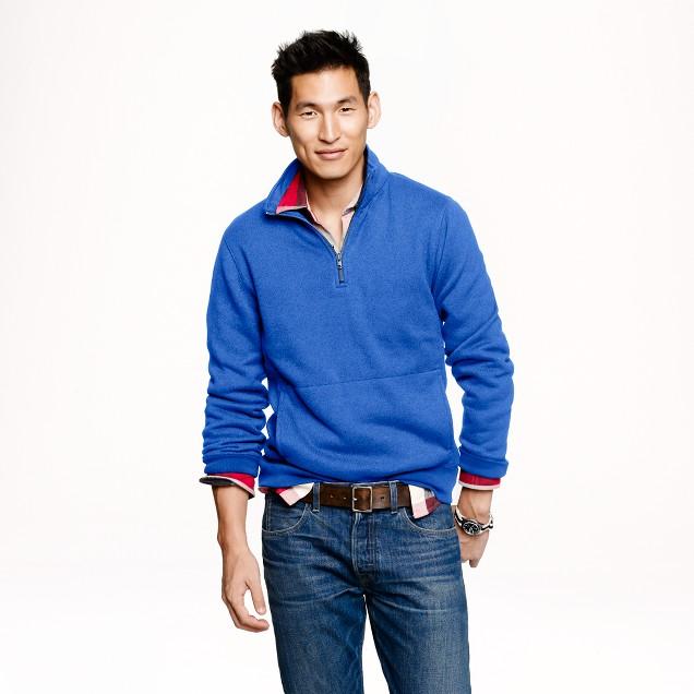 Summit fleece half-zip sweatshirt