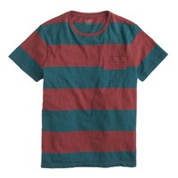 Surf-stripe tee