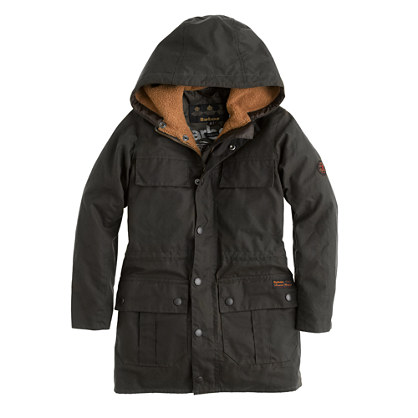 Boys' Barbour® Durham coat