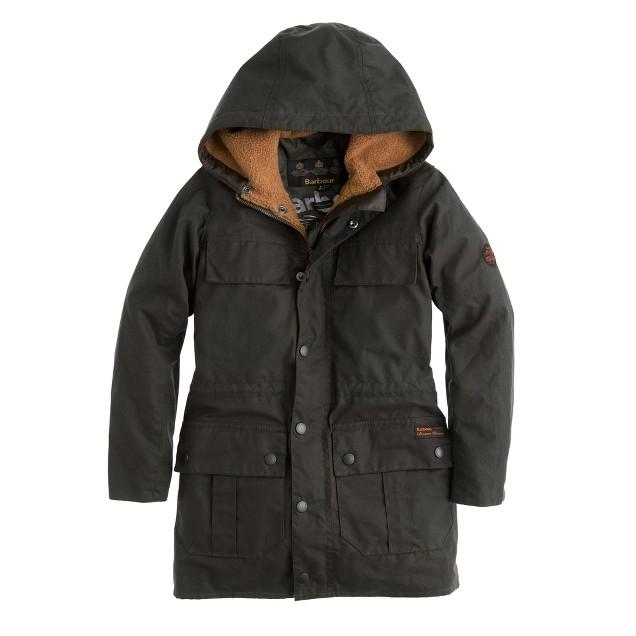 Boys' Barbour® Durham coat