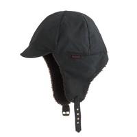 Boys' Barbour® navy trapper hat