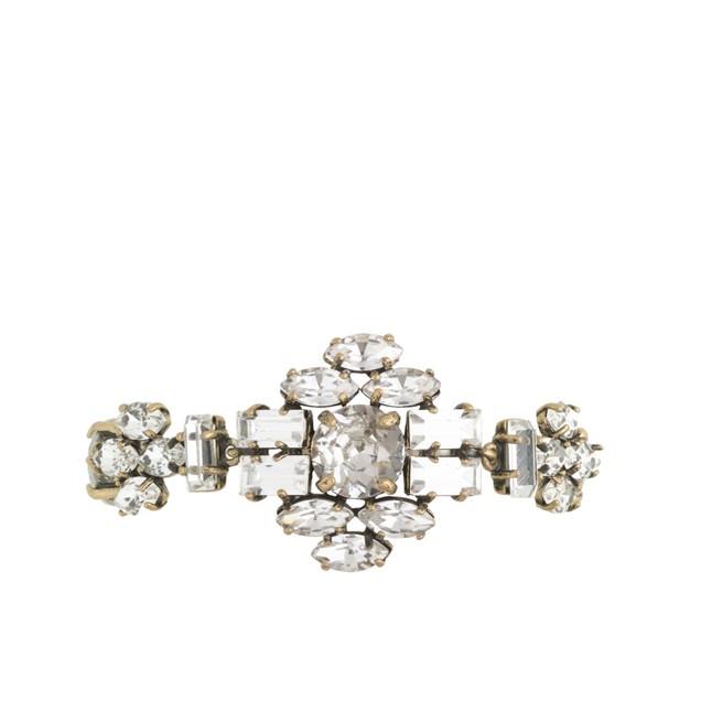 Crystal shapes bracelet