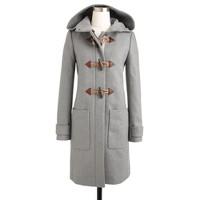 Petite convertible toggle coat