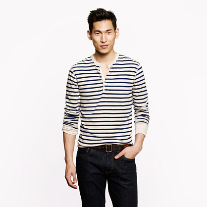 Flagstone henley in stripe