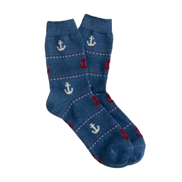Anonymous Ism anchor line socks