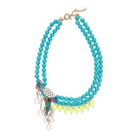 Beaded parrot necklace