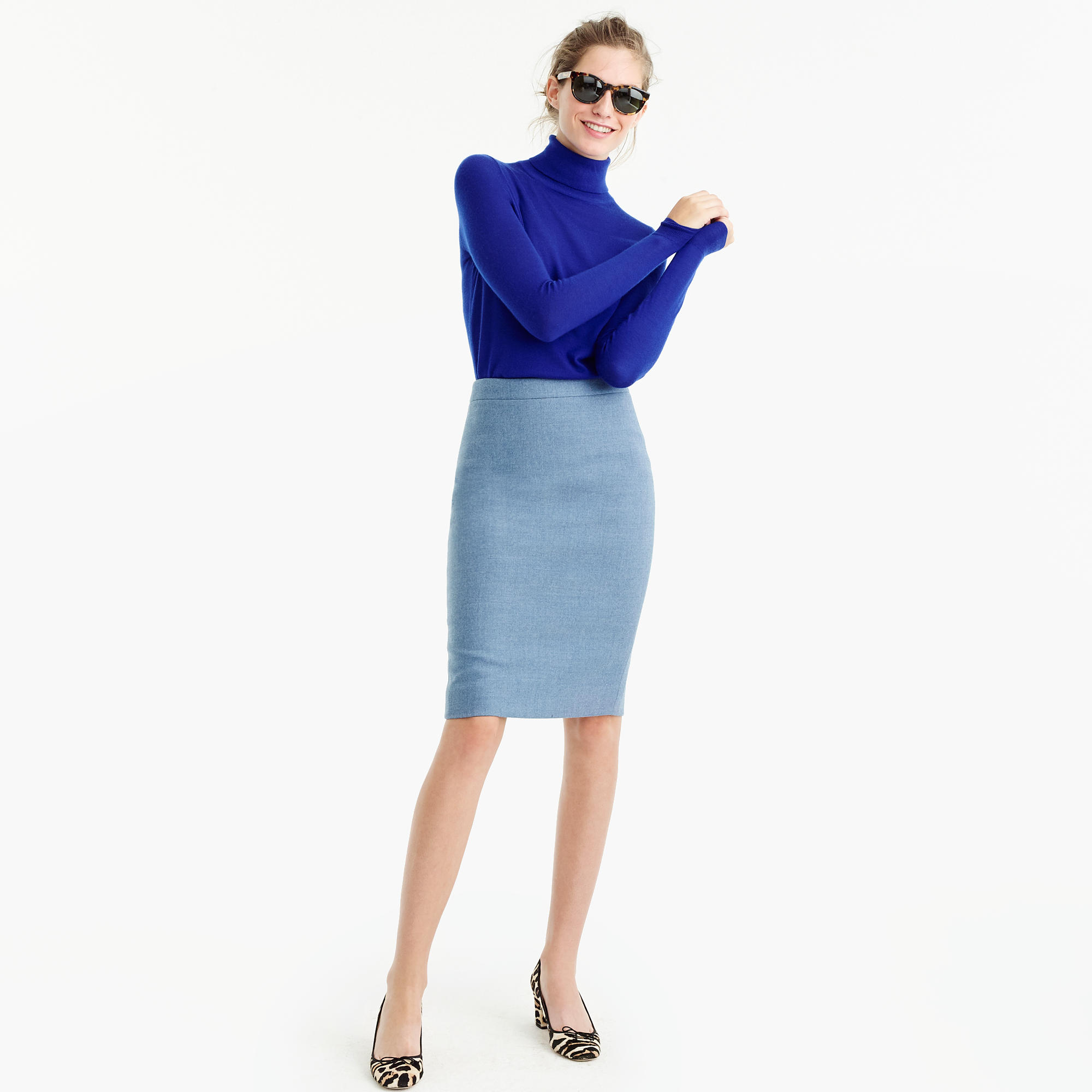 No. 2 Pencil Skirt In Double-Serge Wool : Women's Skirts | J.Crew