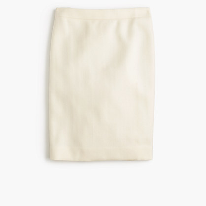 Tall No. 2 pencil skirt in double-serge wool