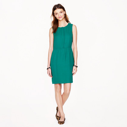 Tall half-placket dress