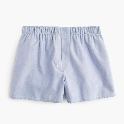 Oxford cloth boxers