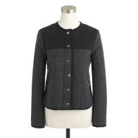 Petite quilted jacket