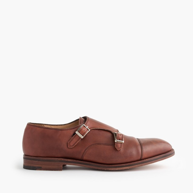 Alfred Sargent™ for J.Crew double monk strap shoes