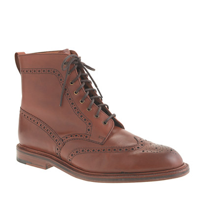 Alfred Sargent™ for J.Crew brogue boots
