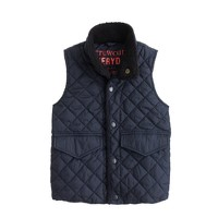 Kids' quilted barn vest
