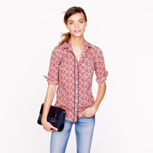 Liberty boy shirt in Betsy Ann floral