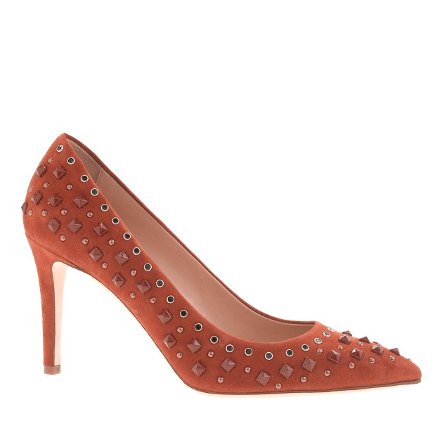 Collection Everly studded pumps