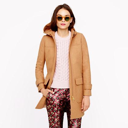 Petite duffle coat
