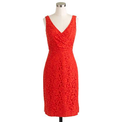 Petite Sara dress in Leavers lace
