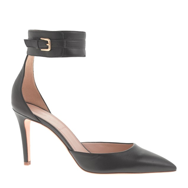 Quinn ankle-cuff pumps