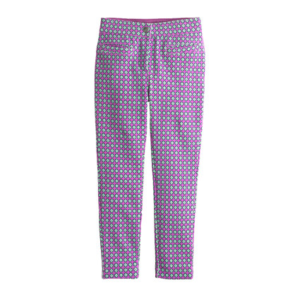 Girls' Pixie pant in square dot