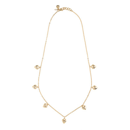 Girls' seven hearts necklace