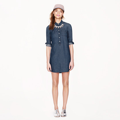 Keeper chambray shirtdress