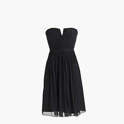 Petite Nadia dress in silk chiffon