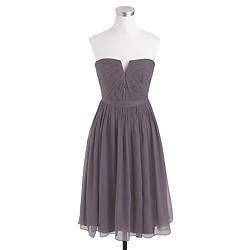 Nadia dress in silk chiffon