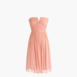 Petite Nadia dress in silk chiffon