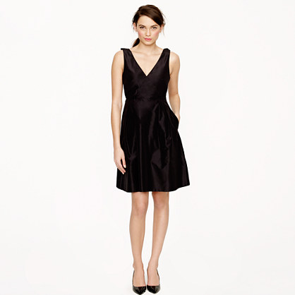 Cilla dress in silk taffeta