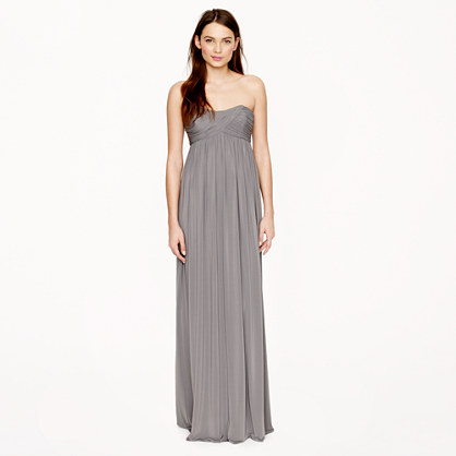 Eve long dress in liquid jersey