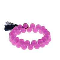 Girls' frosted beads bracelet