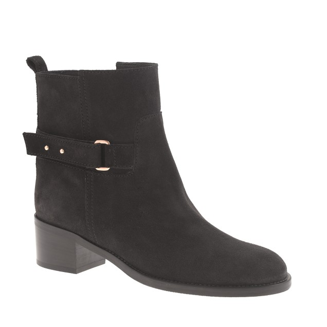 Parker suede ankle boots