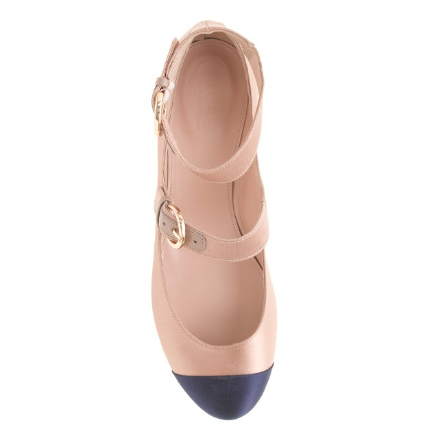 Collection Janey satin Mary Janes