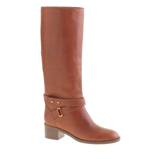 Parker boots with extended calf
