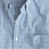 Slim vintage oxford shirt in classic gingham