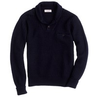 Wallace & Barnes wool shawl-collar sweater