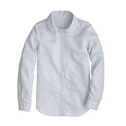 Girls' Wendy shirt in stripe