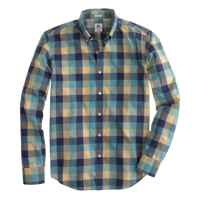 Slim Thomas Mason® Archive for J.Crew shirt in 1901 check
