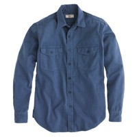 Wallace & Barnes overdyed herringbone twill shirt