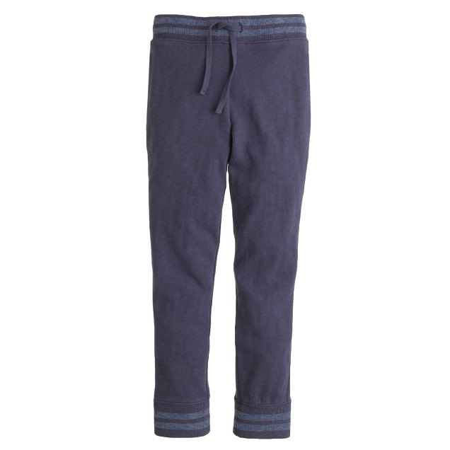 Boys' blue stripe sweatpant