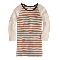 Edith A. Miller™ two-stripe baseball tee